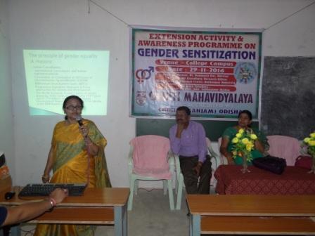 Gender Sensitization Programme